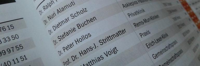 Dr. Hollos Top-Experte für Brustchirurgie in Stuttgart