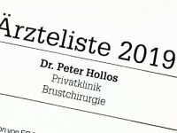 Dr. Hollos erneut TOP-Mediziner in Stuttgart